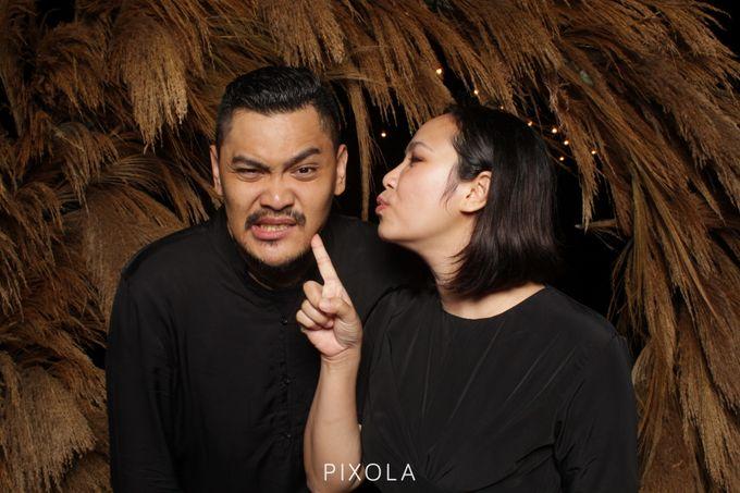 Tjiang & David by PIXOLA Photo Booth - 012