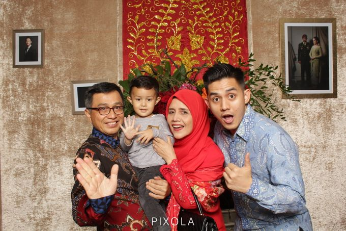SYAFIRA & BOVI by PIXOLA Photo Booth - 007