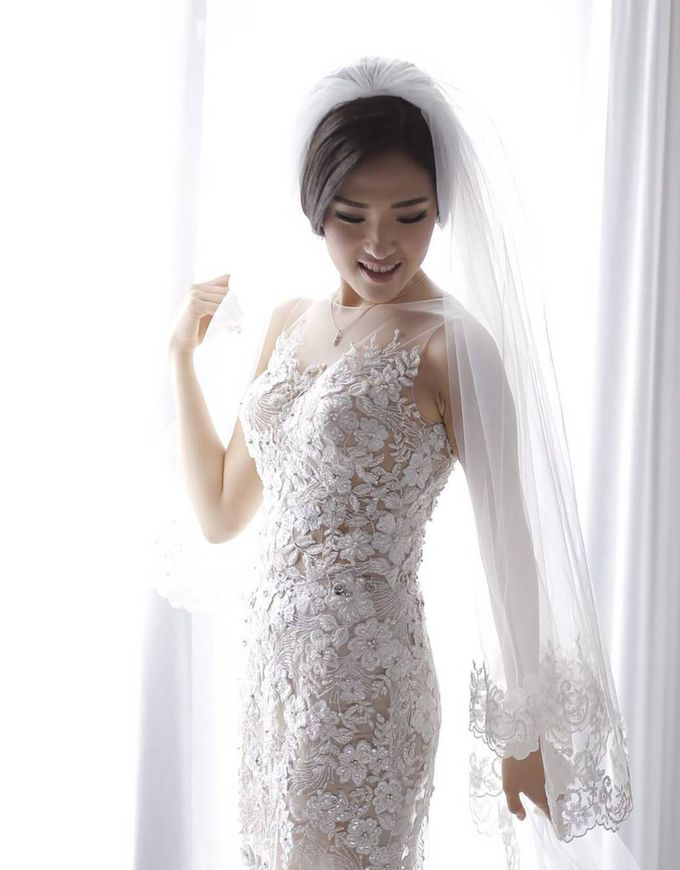 European Wedding Dresses by Gester Bridal & Salon Smart Hair - 011
