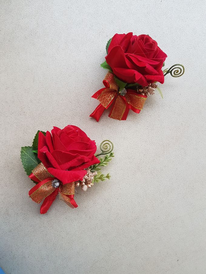 Corsage And Boutennier by nanami florist - 004