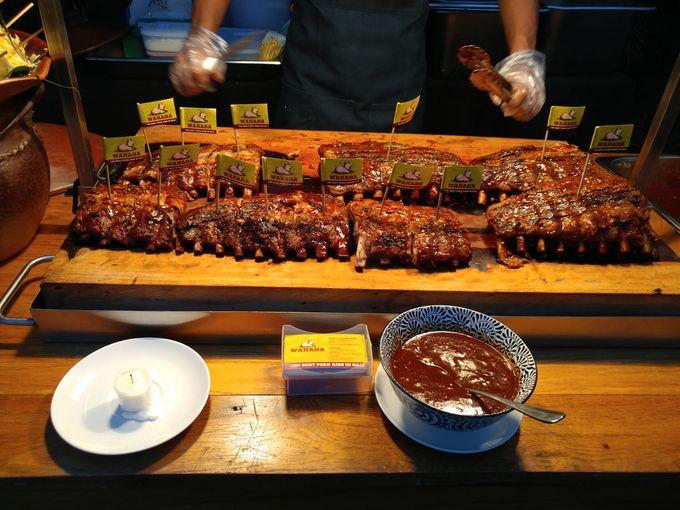 Live Grilled Pork Ribs At Villa Latitude by Wahaha Pork Ribs - 009