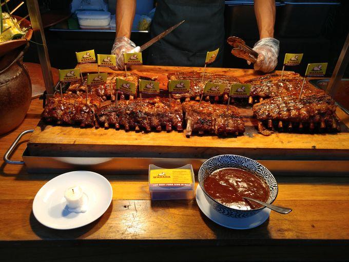 Live Grilled Pork Ribs At Villa Latitude by Wahaha Pork Ribs - 006
