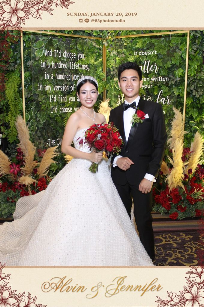 Jennifer and Alvin Wedding by de_Puzzle Event Management - 007