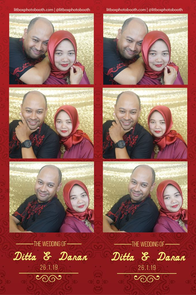 Wedding Ditta & Danar by Litbox Photobooth - 004