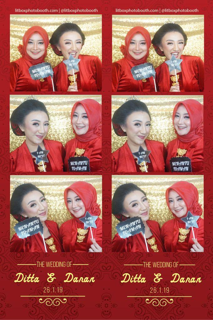 Wedding Ditta & Danar by Litbox Photobooth - 001