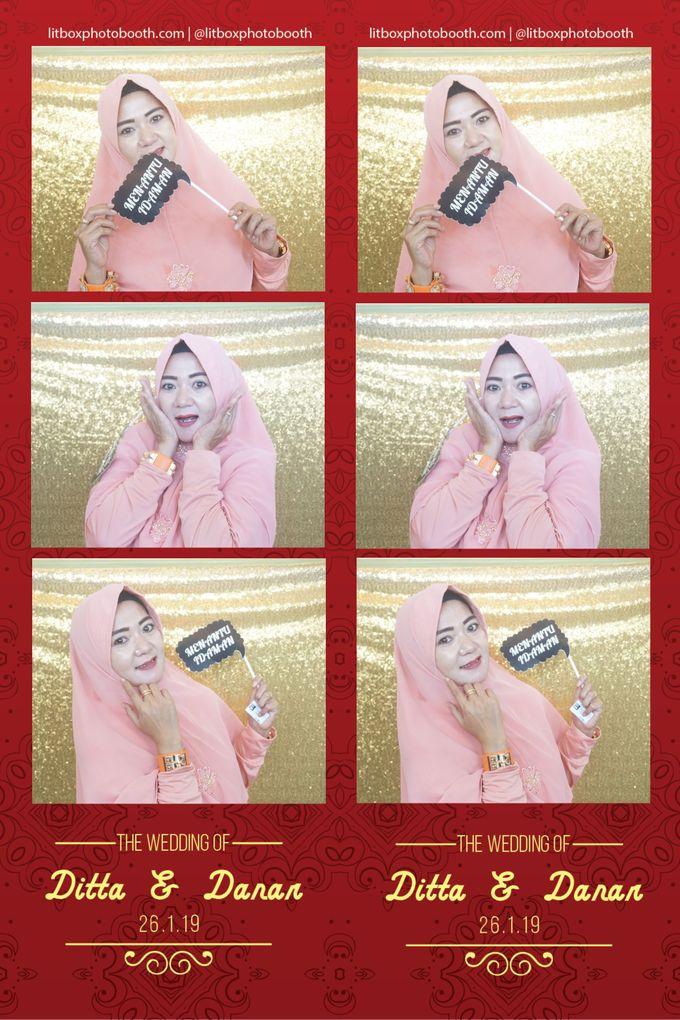 Wedding Ditta & Danar by Litbox Photobooth - 005