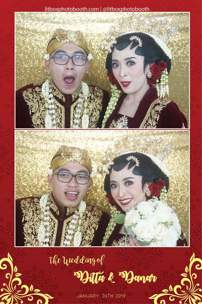 Wedding Ditta & Danar by Litbox Photobooth - 003