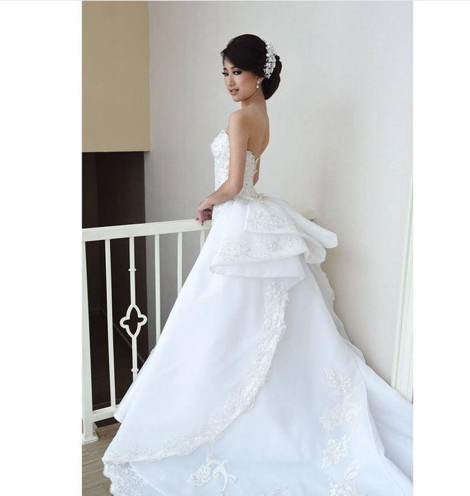 European Wedding Dresses by Gester Bridal & Salon Smart Hair - 017