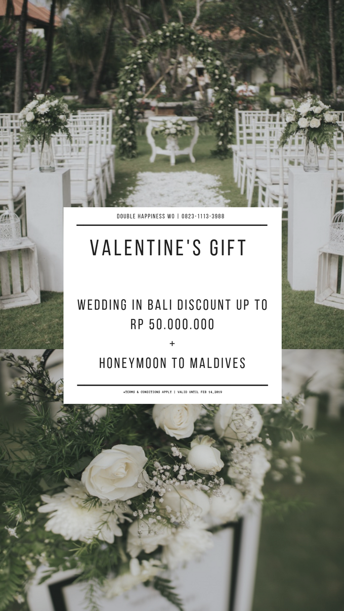 Valentine's Promotion by Double Happiness Wedding Organizer - 001