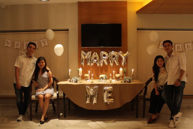 Harris & Silvia Proposal Day Decoration by Phalosa Event Decoration & Table Setting - 004
