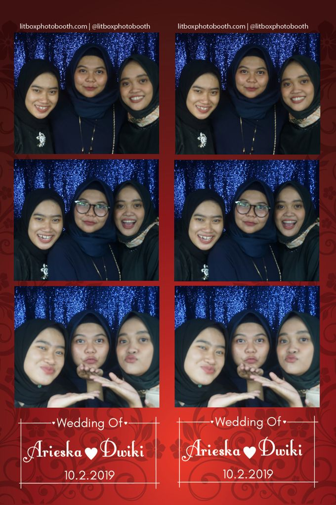 Arieka dan Dwiki by Litbox Photobooth - 003