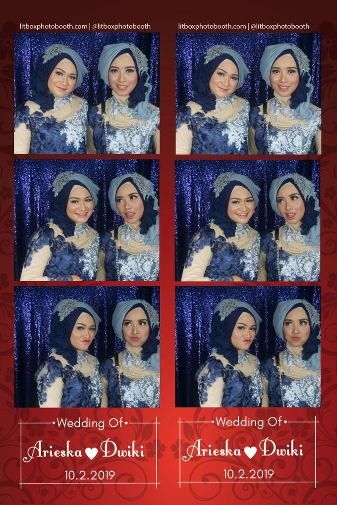Arieka dan Dwiki by Litbox Photobooth - 004