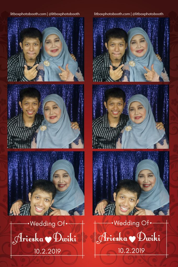 Arieka dan Dwiki by Litbox Photobooth - 005