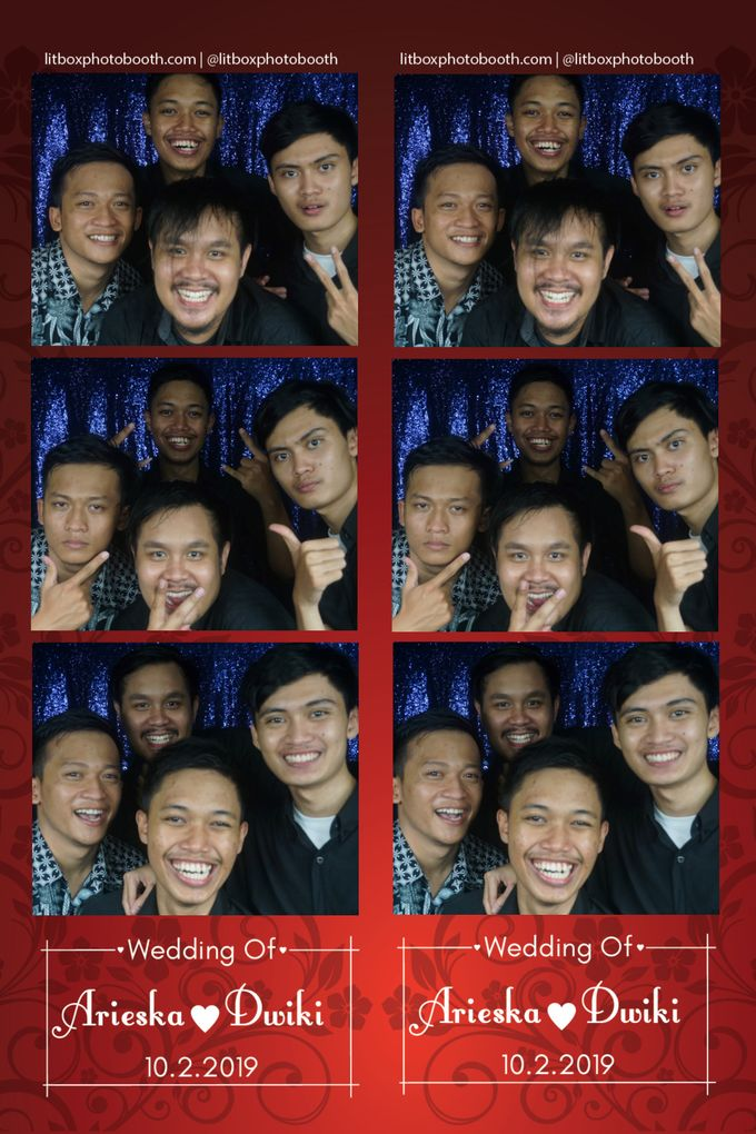 Arieka dan Dwiki by Litbox Photobooth - 002