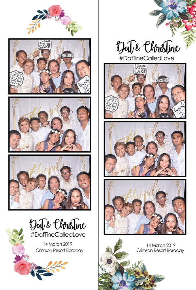 Dat & Christine Wedding Photobooth by Boracay Starshots Photobooth - 001