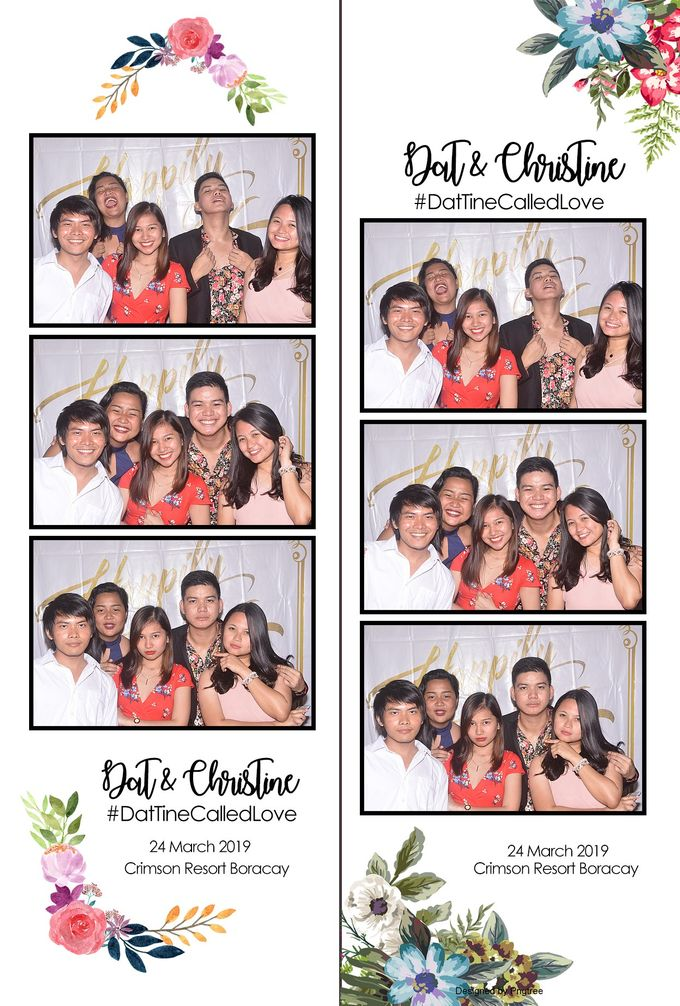 Dat & Christine Wedding Photobooth by Boracay Starshots Photobooth - 003