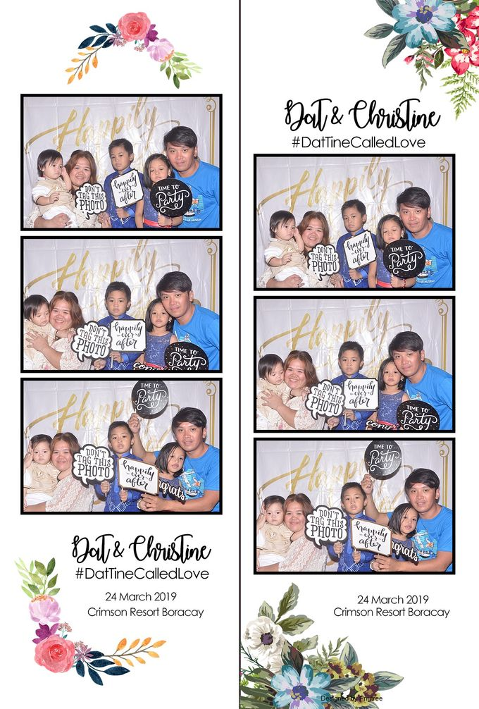 Dat & Christine Wedding Photobooth by Boracay Starshots Photobooth - 004