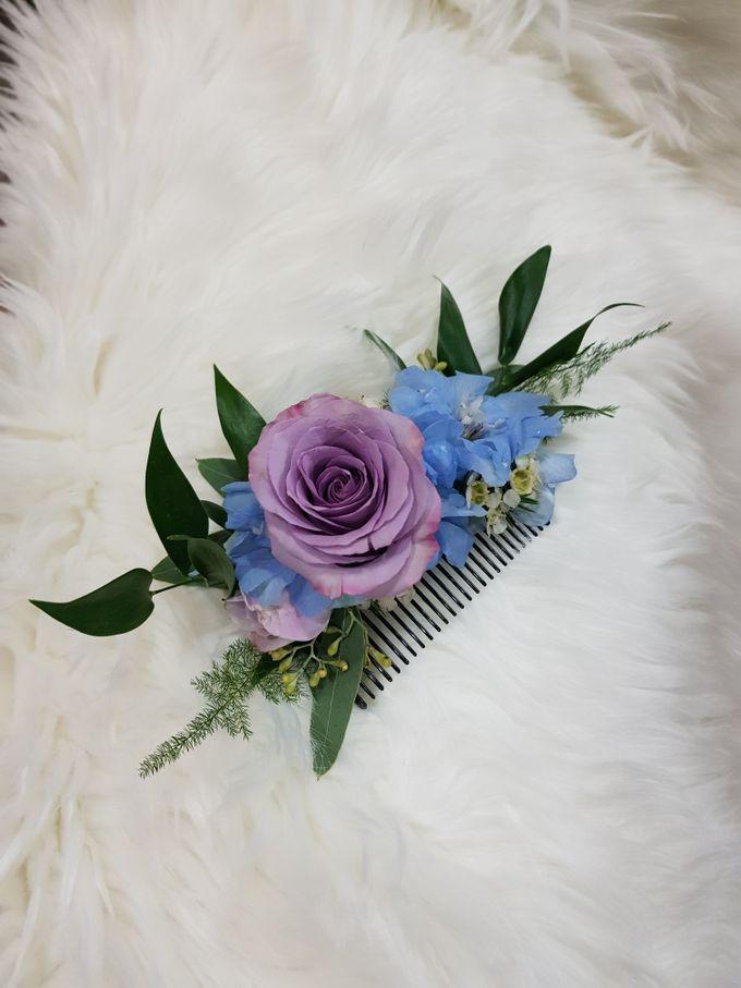 Mike & Jocelyn Church Wedding by Happyflorals - 006