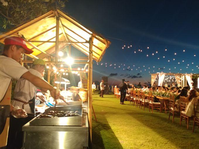 Live Grill at Villa Phalosa, Pantai Batu Belig by Lumbung Catering - 013