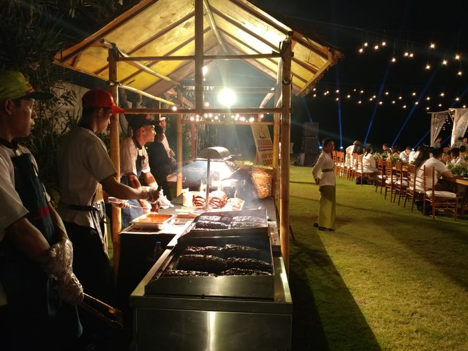 Live Grill at Villa Phalosa, Pantai Batu Belig by Lumbung Catering - 029