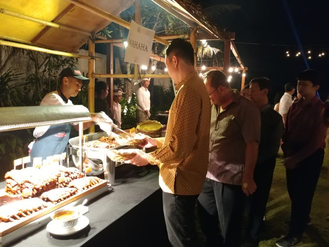 Live Grill at Villa Phalosa, Pantai Batu Belig by Lumbung Catering - 014