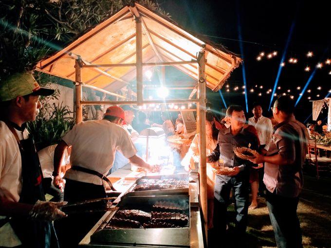 Live Grill at Villa Phalosa, Pantai Batu Belig by Lumbung Catering - 009