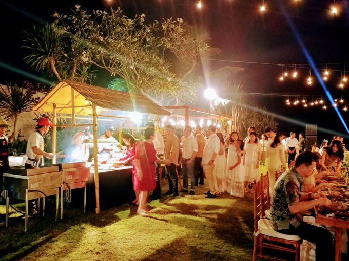Live Grill at Villa Phalosa, Pantai Batu Belig by Lumbung Catering - 016