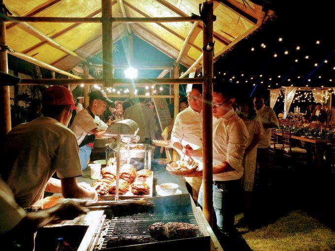 Live Grill at Villa Phalosa, Pantai Batu Belig by Lumbung Catering - 025