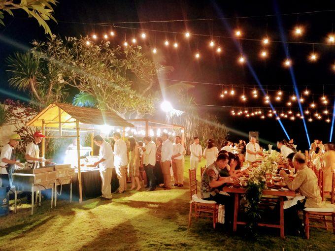 Live Grill at Villa Phalosa, Pantai Batu Belig by Lumbung Catering - 010