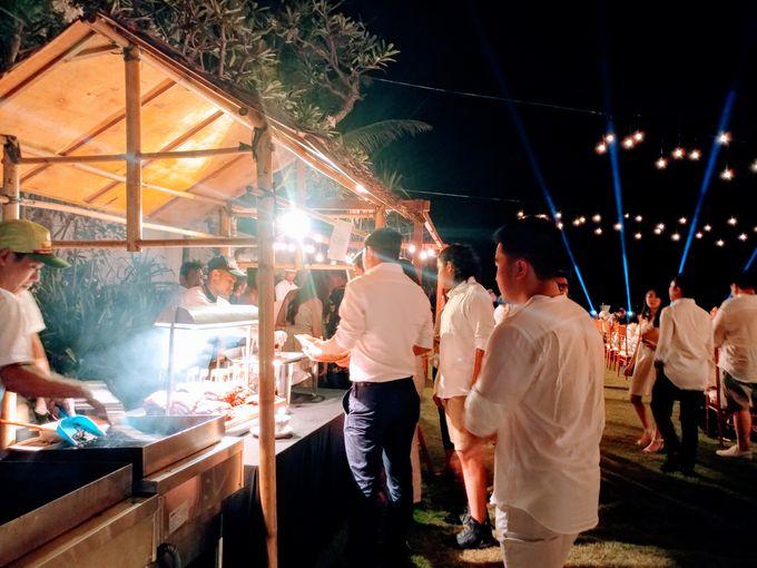 Live Grill at Villa Phalosa, Pantai Batu Belig by Lumbung Catering - 008