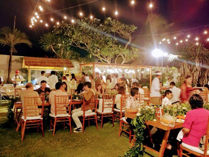 Live Grill at Villa Phalosa, Pantai Batu Belig by Lumbung Catering - 015