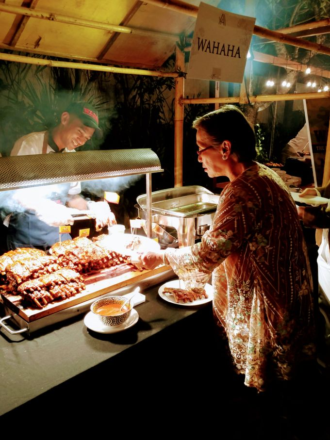 Live Grill at Villa Phalosa, Pantai Batu Belig by Lumbung Catering - 002
