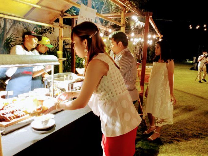 Live Grill at Villa Phalosa, Pantai Batu Belig by Lumbung Catering - 006