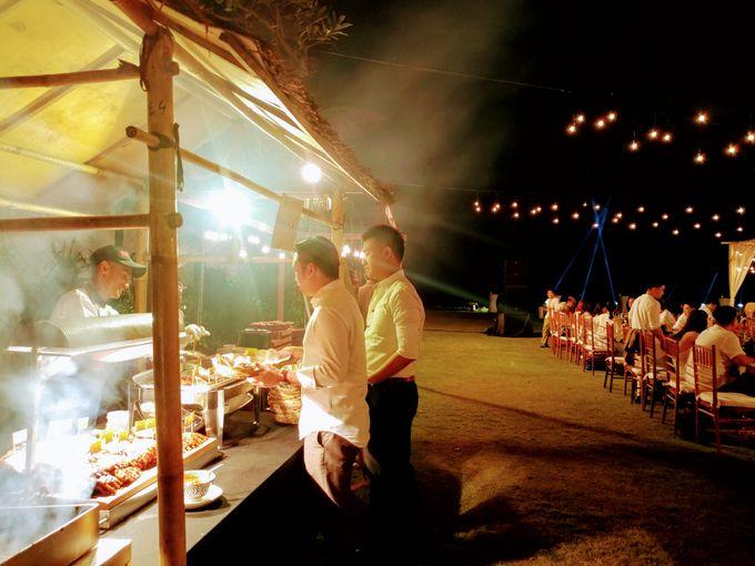 Live Grill at Villa Phalosa, Pantai Batu Belig by Lumbung Catering - 004