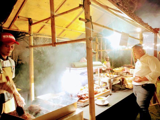 Live Grill at Villa Phalosa, Pantai Batu Belig by Lumbung Catering - 018