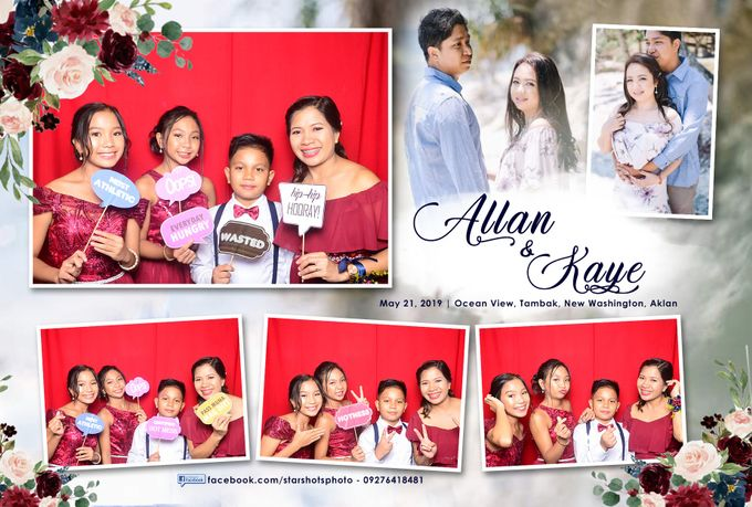 Allan & Kaye Wedding by Boracay Starshots Photobooth - 004