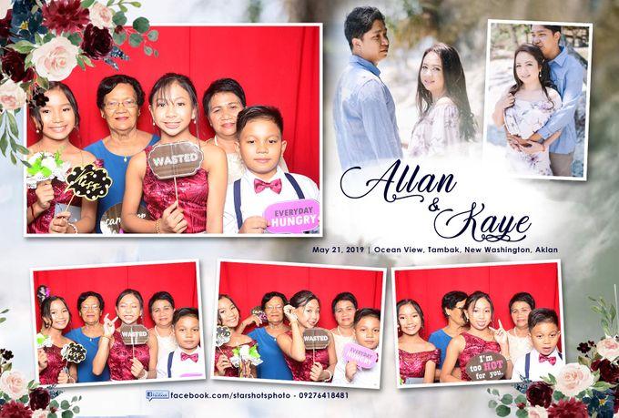 Allan & Kaye Wedding by Boracay Starshots Photobooth - 005