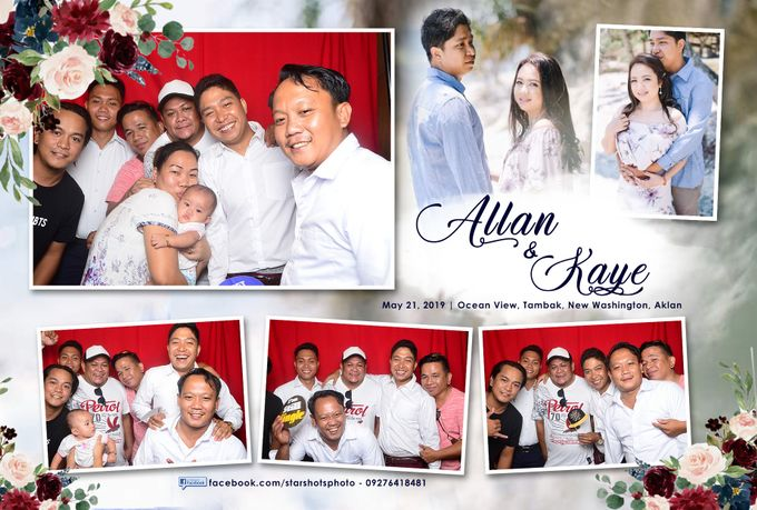 Allan & Kaye Wedding by Boracay Starshots Photobooth - 001