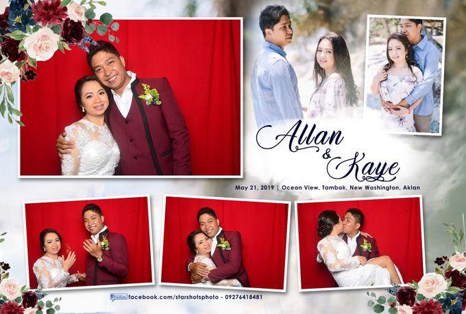 Allan & Kaye Wedding by Boracay Starshots Photobooth - 002