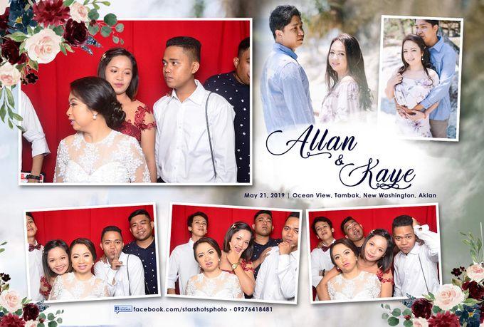 Allan & Kaye Wedding by Boracay Starshots Photobooth - 003