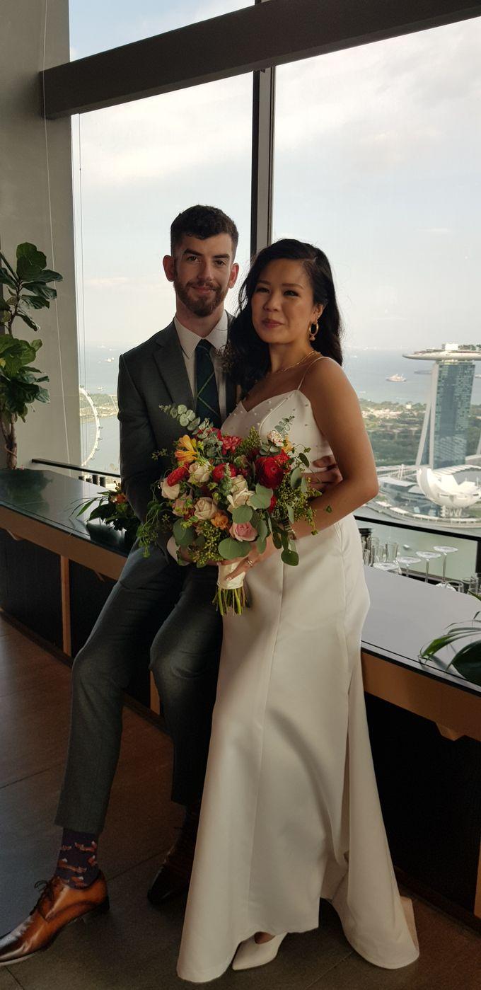Wedding Of David & Eliz @ Swissotel by Dorcas Floral - 004