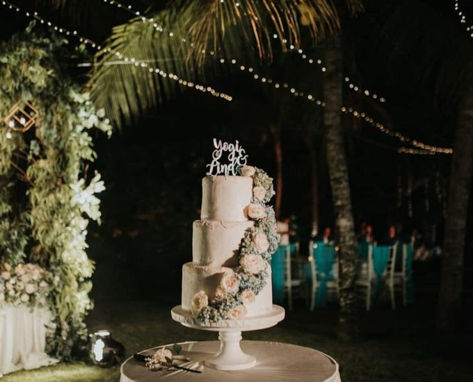 The Wedding Cake Of Yogi & Linda by Moia Cake - 002