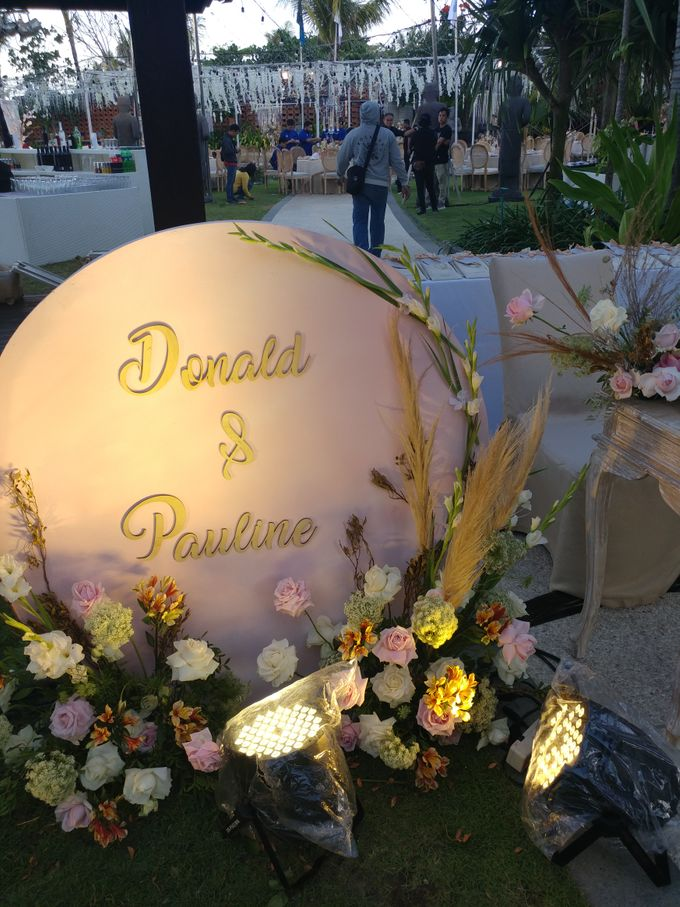 Wedding Donald & Pauline At Sofitel Bali Nusa Dua by Wahaha Pork Ribs - 027