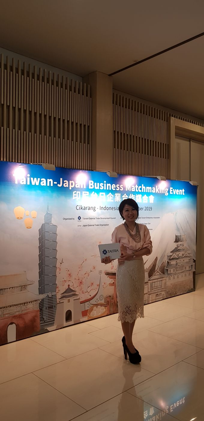 Taiwan Japan  Entrepreneurs Business Matching by MC Mandarin Linda Lin - 001