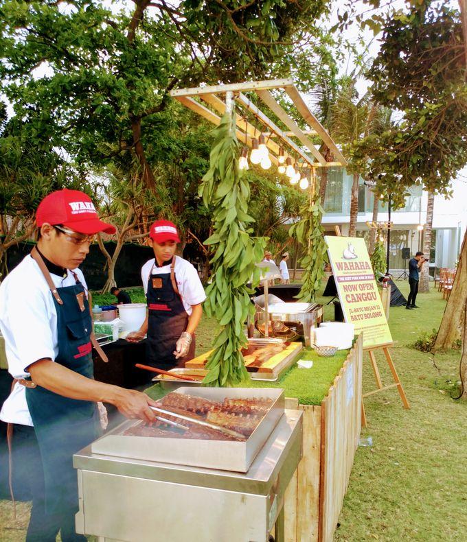 Live Grilled BBQ Station At Villa Ombak Biru by Wahaha Pork Ribs - 017