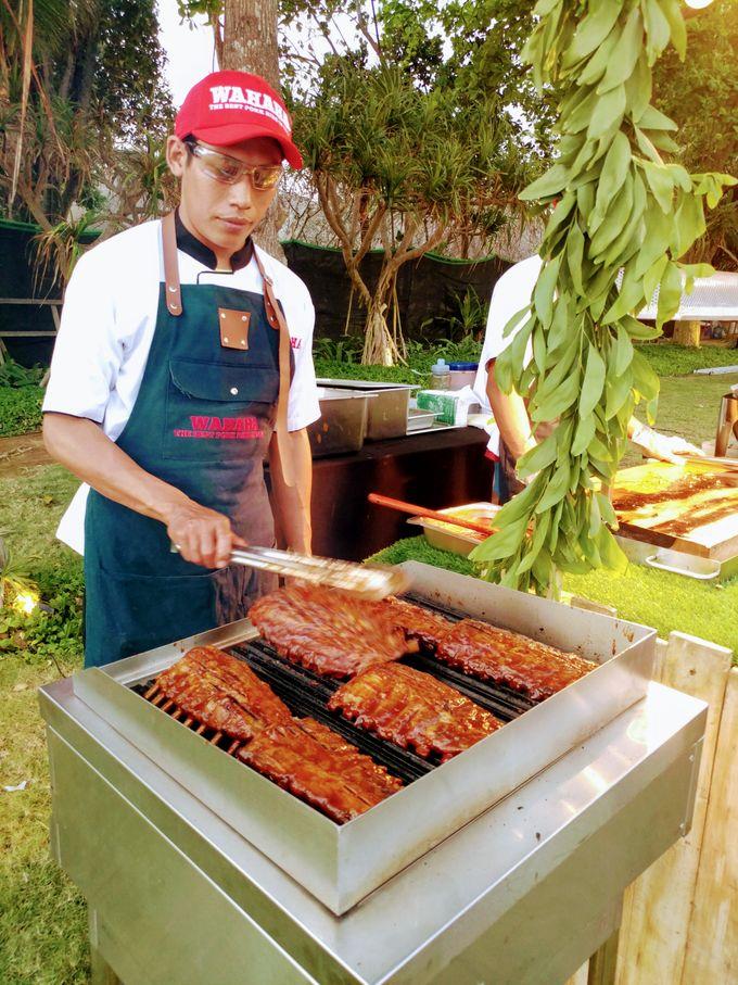 Live Grilled BBQ Station At Villa Ombak Biru by Wahaha Pork Ribs - 010