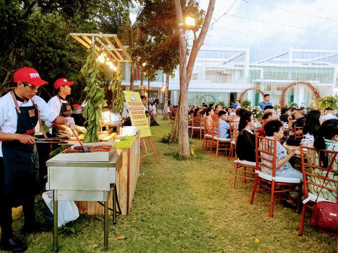 Live Grilled BBQ Station At Villa Ombak Biru by Wahaha Pork Ribs - 040