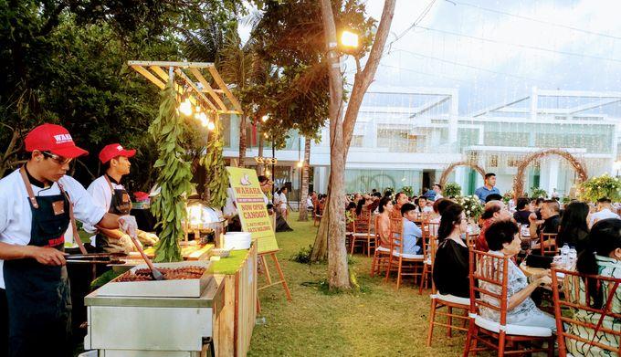 Live Grilled BBQ Station At Villa Ombak Biru by Wahaha Pork Ribs - 029