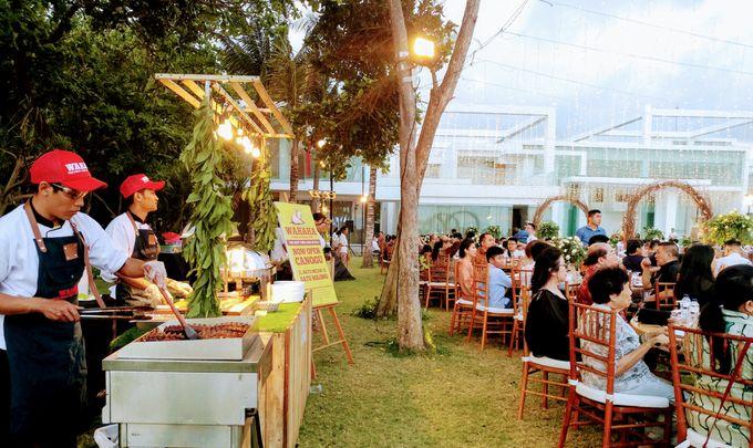Live Grilled BBQ Station At Villa Ombak Biru by Wahaha Pork Ribs - 039