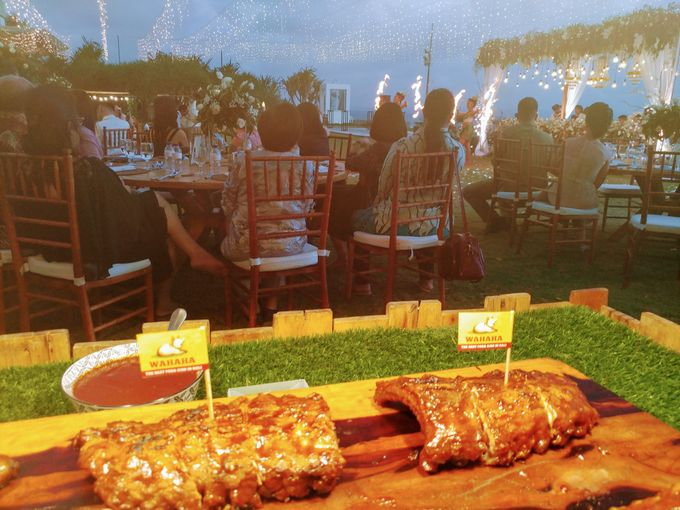 Live Grilled BBQ Station At Villa Ombak Biru by Wahaha Pork Ribs - 034